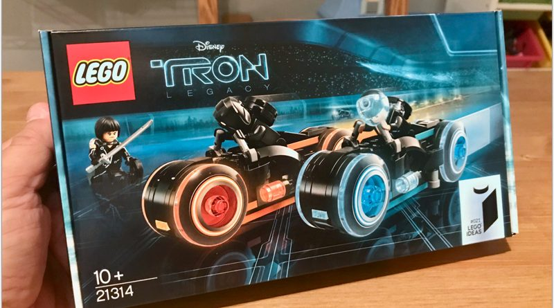 EXCLUSIVE: TRON Legacy 21314 Review