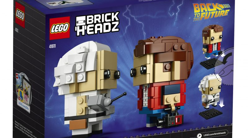 Great Scott! LEGO® Back to the Future  BrickHeadz  Announced!