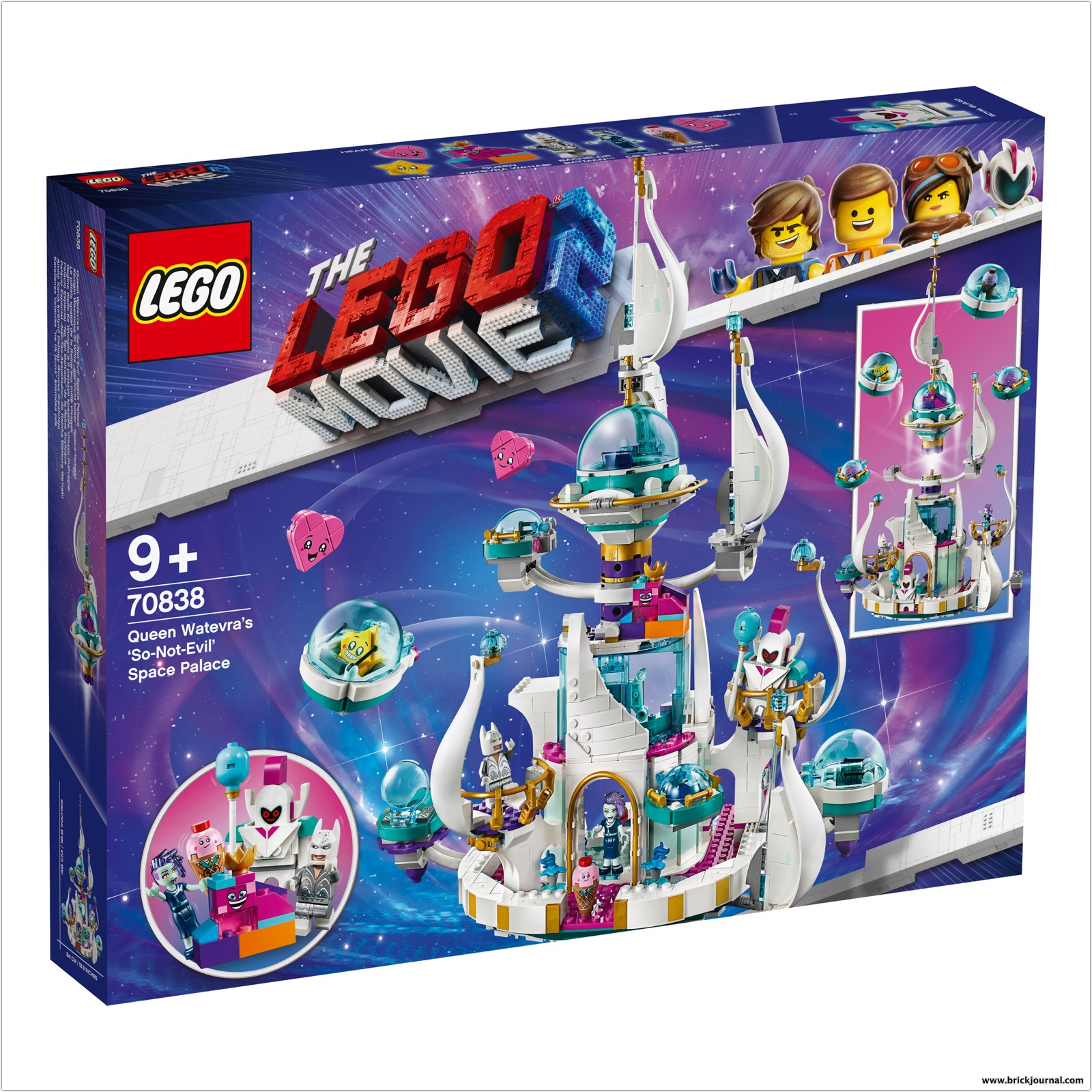 Lego Group Unveils Three More Building Sets From The Lego Movie 2