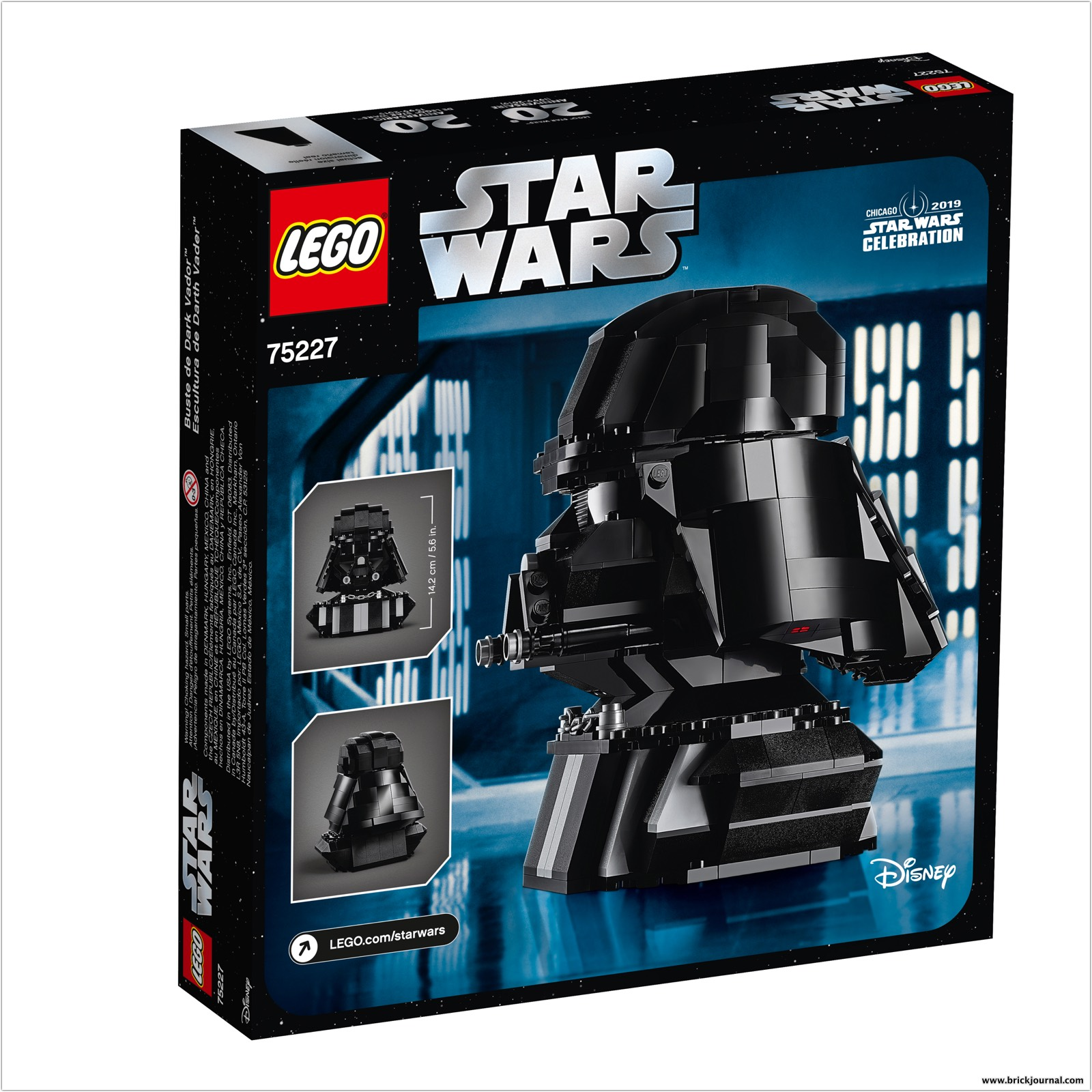Turn To The Dark Side With The Lego Star Wars 75227 Darth Vader Bust