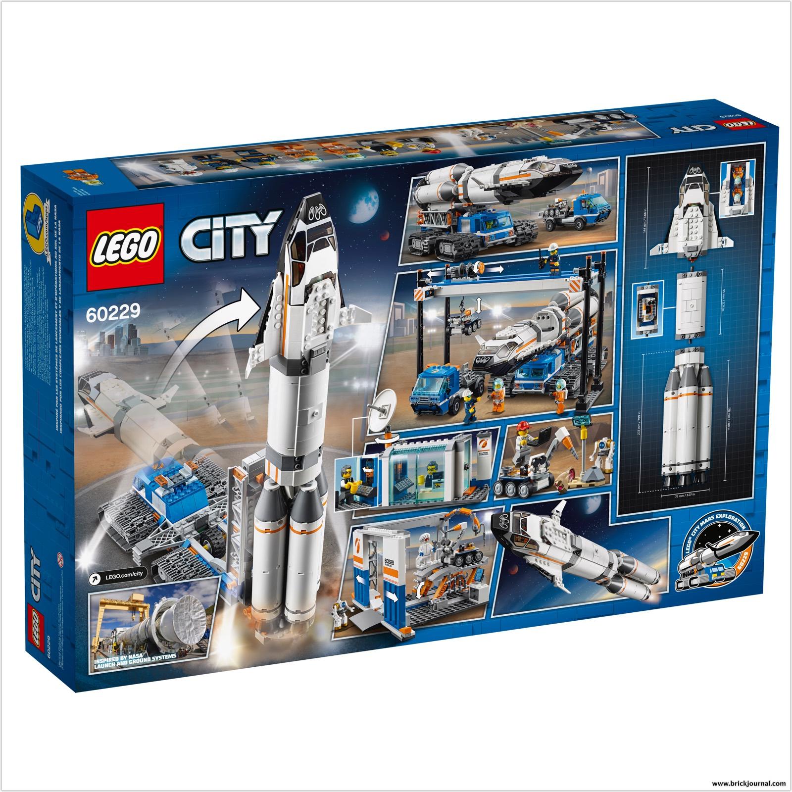 LEGO CITY Mars Exploration Sets Depict NASA's Future Ambition