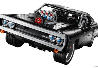 LEGO® TECHNIC™ Goes Full Throttle With Dom's Dodge Charger Set From The FAST & FURIOUS Franchise!