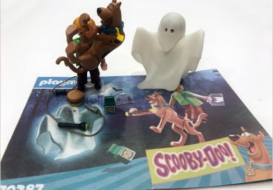 Toy Review: Playmobil Scooby Doo Blind Bag (70288) and Scooby Doo & Shaggy with Ghost (70287)