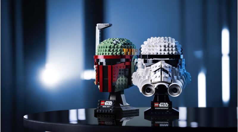 New LEGO® Star Wars™ Helmet Building Sets Challenge Builders to Display Their Dark Side